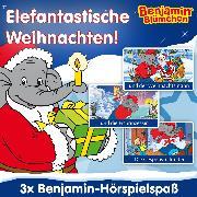 Cover-Bild zu Benjamin Blümchen - Elefantastische Weihnachten (Audio Download) von Schmelich, Guido