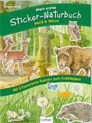 Cover-Bild zu Mein erstes Sticker-Naturbuch: Wald & Wiese von Henkel, Christine