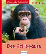 Cover-Bild zu Meine große Tierbibliothek: Der Schimpanse von Frattini, Stéphane