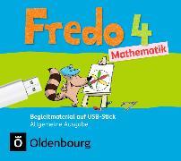 Cover-Bild zu Fredo - Mathematik 4. Schuljahr. Ausgabe A 2015. Begleitmaterial auf USB-Stick von Balins, Mechtilde