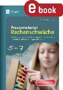 Cover-Bild zu Praxismaterial Rechenschwäche Klassen 5-7 (eBook) von Sueck, Ann-Kathrin