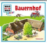 Cover-Bild zu WAS IST WAS Junior Hörspiel: Bauernhof von Wilhelmi, Friederike