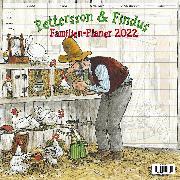 Cover-Bild zu Nordqvist, Sven (Illustr.): Pettersson & Findus - Familien Planer 2022