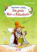 Cover-Bild zu Becker, Christian: Pettersson und Findus. Das große Mal- und Rätselbuch