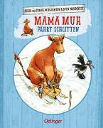 Cover-Bild zu Wieslander, Jujja: Mama Muh fährt Schlitten