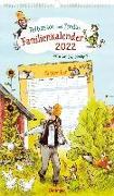 Cover-Bild zu Nordqvist, Sven (Illustr.): Pettersson und Findus Familienkalender 2022