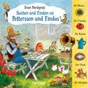 Cover-Bild zu Nordqvist, Sven: Suchen und finden mit Pettersson und Findus