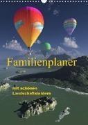 Cover-Bild zu Schulze, Klaus-Dieter: Familienplaner mit schönen Landschaftsbildern (Wandkalender 2022 DIN A3 hoch)