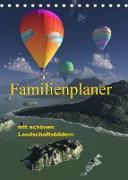 Cover-Bild zu Schulze, Klaus-Dieter: Familienplaner mit schönen Landschaftsbildern (Tischkalender 2022 DIN A5 hoch)
