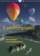 Cover-Bild zu Schulze, Klaus-Dieter: Familienplaner mit schönen Landschaftsbildern (Wandkalender 2022 DIN A4 hoch)