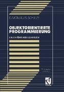 Cover-Bild zu Schulze, Sören: Objektorientierte Programmierung