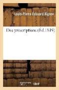 Cover-Bild zu Bignon, Louis-Pierre-Édouard: Des Proscriptions