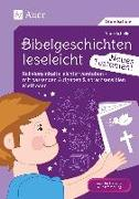 Cover-Bild zu Scheller, Anne: Bibelgeschichten leseleicht - Neues Testament