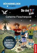 Cover-Bild zu Scheller, Anne: Die drei ??? Kids, Bücherhelden 2. Klasse, Geheime Flaschenpost