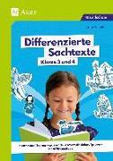 Cover-Bild zu Scheller, Anne: Differenzierte Sachtexte Klasse 3 und 4