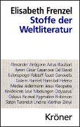 Cover-Bild zu Frenzel, Elisabeth: Stoffe der Weltliteratur