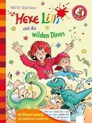 Cover-Bild zu Der Bücherbär. Erstlesebücher für das Lesealter 1. Klasse / Hexe Lilli und die wilden Dinos von KNISTER