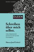 Cover-Bild zu Ortheil, Hanns-Josef: Schreiben über mich selbst