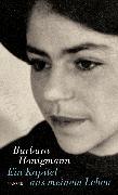 Cover-Bild zu Honigmann, Barbara: Ein Kapitel aus meinem Leben