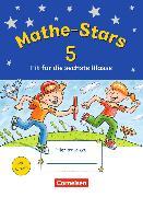Cover-Bild zu Mathe-Stars - Fit für die nächste Klasse. Fit für die 6. Klasse. Übungsheft mit Lösungen von Eiband, Barbara