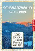 Cover-Bild zu Goetz, Rolf: 1000 Places-Regioführer Schwarzwald