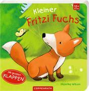 Cover-Bild zu Wilson, Henrike (Illustr.): Kleiner Fritzi Fuchs