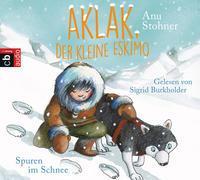 Cover-Bild zu Stohner, Anu: Aklak, der kleine Eskimo - Spuren im Schnee
