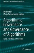 Cover-Bild zu Cantero Gamito, Marta (Hrsg.): Algorithmic Governance and Governance of Algorithms