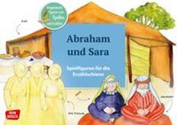 Cover-Bild zu Abraham und Sara. Spielfiguren für die Erzählschiene von Lefin, Petra (Illustr.)