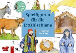 Cover-Bild zu Jesus wird geboren. Spielfiguren für die Erzählschiene von Lefin, Petra (Illustr.)
