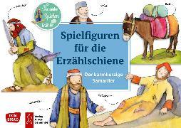 Cover-Bild zu Der barmherzige Samariter. Spielfiguren für die Erzählschiene von Lefin, Petra (Illustr.)