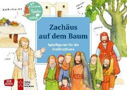 Cover-Bild zu Zachäus auf dem Baum. Spielfiguren für die Erzählschiene von Lefin, Petra (Illustr.)