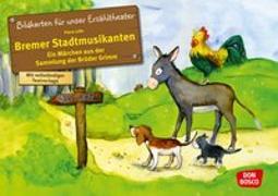 Cover-Bild zu Bildkarten für unser Erzähltheater: Die Bremer Stadtmusikanten von Lefin, Petra (Illustr.)