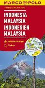 Cover-Bild zu MARCO POLO Kontinentalkarte Indonesien, Malaysia 1:2 000 000. 1:2'000'000