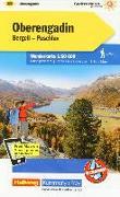 Cover-Bild zu Oberengadin Bergell Puschlav Nr. 28 Wanderkarte 1:60 000. 1:60'000