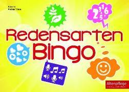 Cover-Bild zu Redensarten Bingo von Friese, Andrea