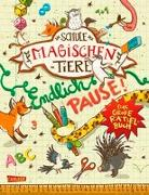 Cover-Bild zu Busch, Nikki: Die Schule der magischen Tiere. Endlich Pause! Das große Rätselbuch