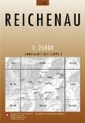 Cover-Bild zu Reichenau. 1:25'000