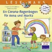 Cover-Bild zu Steindamm, Constanze: LESEMAUS 185: Ein Corona Regenbogen für Anna und Moritz - Mit Tipps für Kinder rund um Covid-19 (eBook)