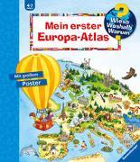 Cover-Bild zu Erne, Andrea: Wieso? Weshalb? Warum? Mein erster Europa-Atlas
