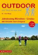 Cover-Bild zu Haupt, Christiane: Jakobsweg München - Lindau. 1:120'000
