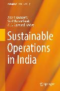 Cover-Bild zu Gajanand, M. S. (Hrsg.): Sustainable Operations in India (eBook)