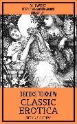 Cover-Bild zu Lawrence, D. H.: 3 books to know Classic Erotica (eBook)