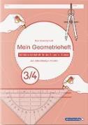 Cover-Bild zu Langhans, Katrin: Mein Geometrieheft 3/4