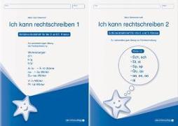 Cover-Bild zu Langhans, Katrin: Ich kann rechtschreiben 1 und »Ich kann rechtschreiben 2 als Kombi, Schüler-Arbeitshefte für die 2. und 3. Klasse