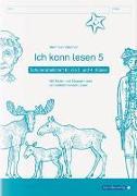 Cover-Bild zu Langhans, Katrin: Ich kann lesen 5 - Schülerarbeitsheft für die 3. und 4. Klasse