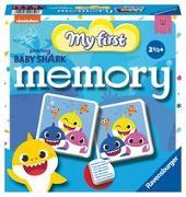 Cover-Bild zu Hurter, William H.: Ravensburger 20650 - Baby Shark memory®, der Spieleklassiker für alle Babyshark Fans, Kinderspiel für 2-4 Spieler ab 2 Jahren