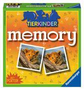 Cover-Bild zu Hurter, William H.: Ravensburger 21275 - Tierkinder memory®, der Spieleklassiker für Tierfans, Merkspiel für 2-8 Spieler ab 4 Jahren