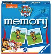 Cover-Bild zu Hurter, William H.: Ravensburger - 20743 Paw Patrol memory®, der Spieleklassiker für alle Fans der TV-Serie Paw Patrol, Merkspiel für 2-8 Spieler ab 4 Jahren
