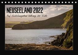 Cover-Bild zu Kirchner, Angela: Neuseeland - Auf Entdeckungstour entlang der Küste (Tischkalender 2022 DIN A5 quer)